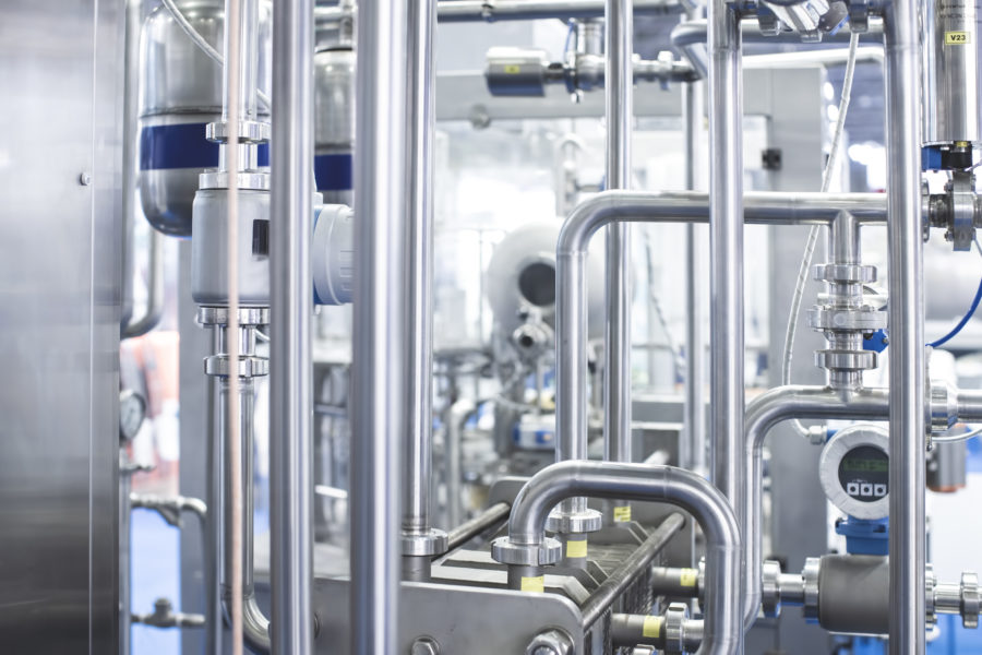 Stainless steel food processing